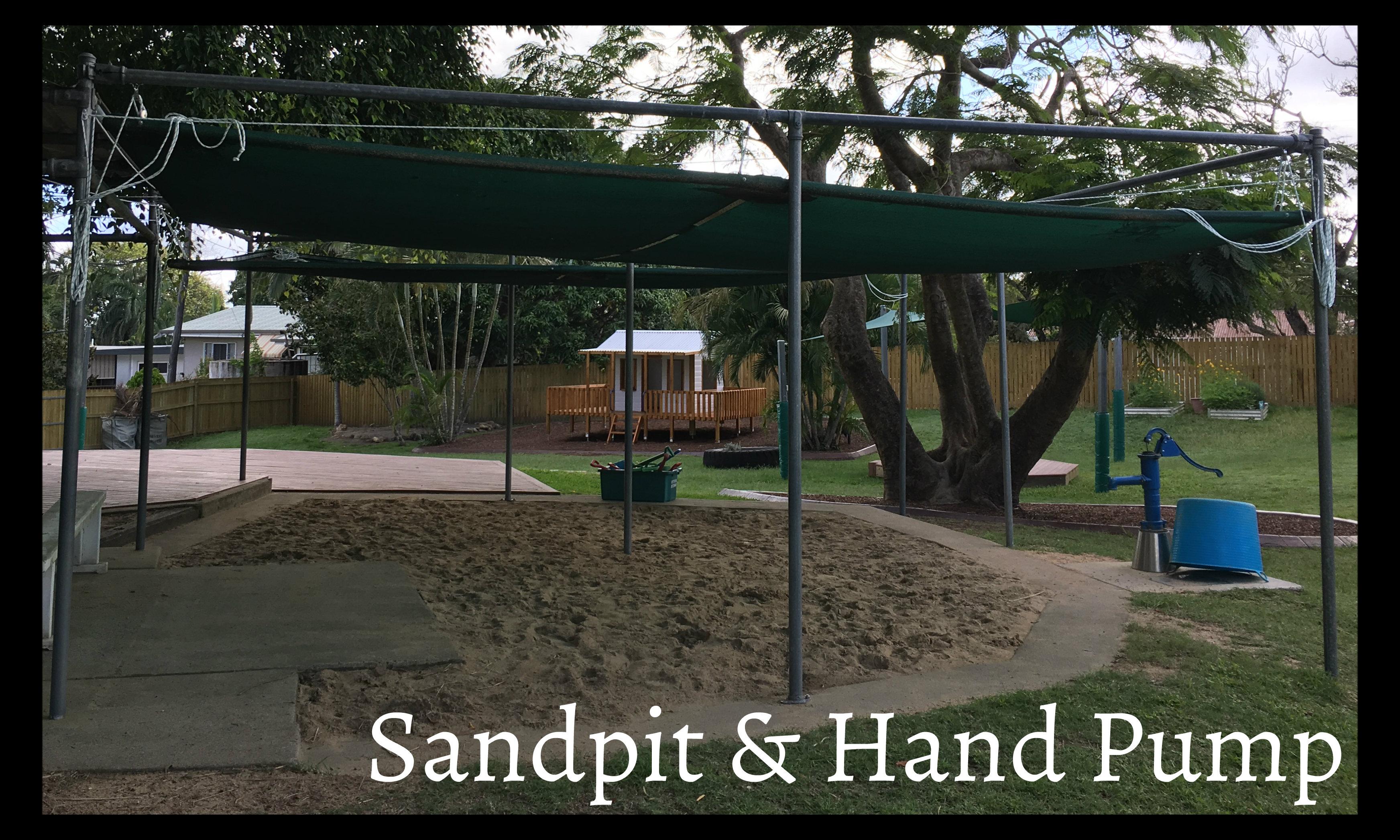 Sandpit & Hand Pump